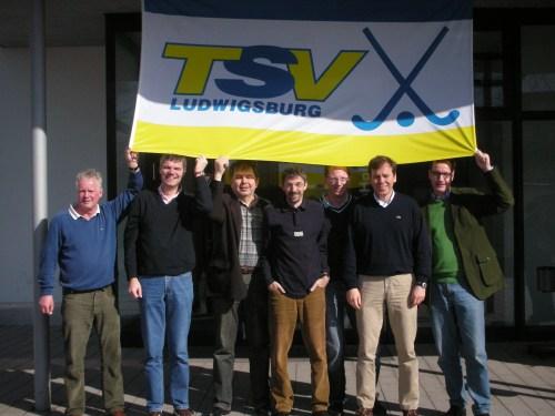 Senioren des Hockey-Club Bad Homburg in Ludwigsburg, März 2010
