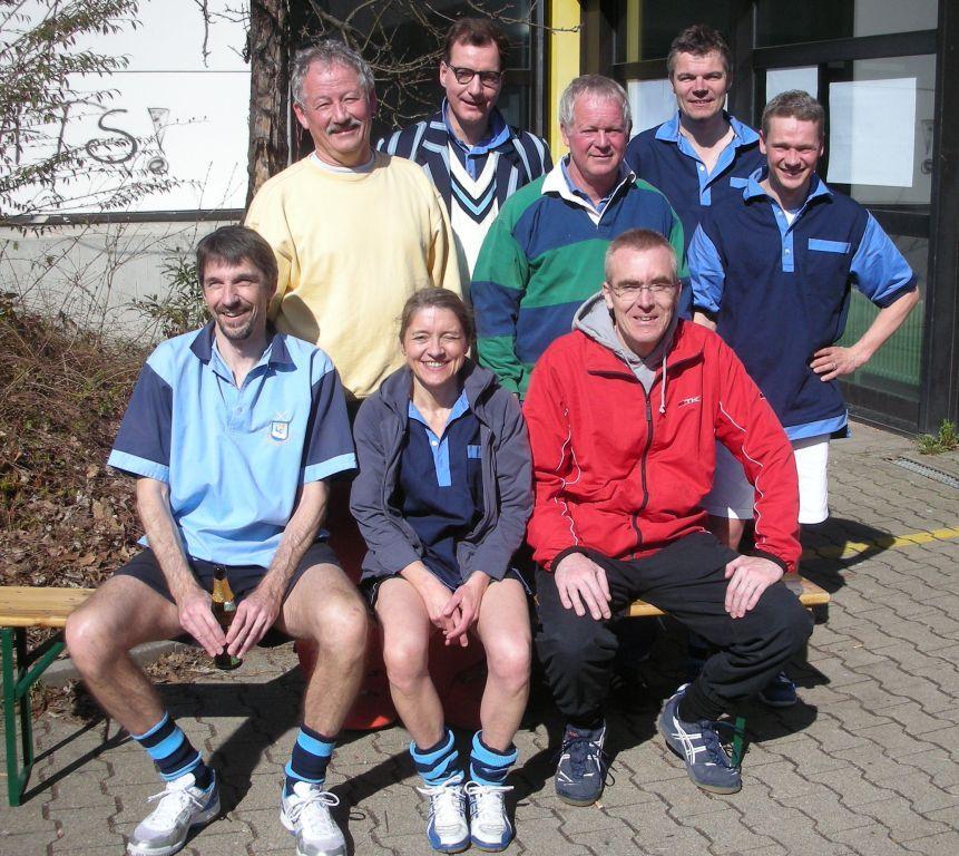 Senioren des Hockey-Club Bad Homburg in Ludwigsburg, März 2011
