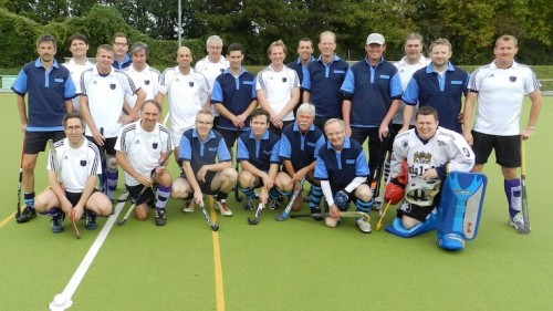 Senioren des Hockey-Club Bad Homburg mit Janz Bonn, Oktober 2011