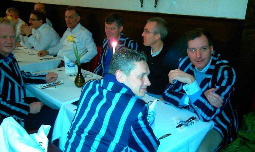 Senioren des Hockey-Club Bad Homburg in Clubjacke