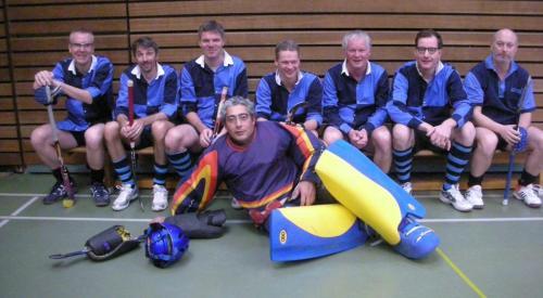 Senioren des Hockey-Club Bad Homburg in Villingen, Januar 2012