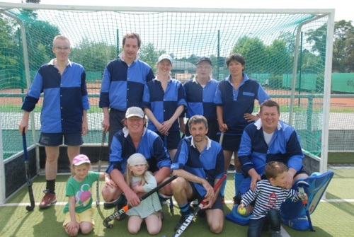 Senioren des Hockey-Club Bad Homburg in Darmstadt, Juli 2012