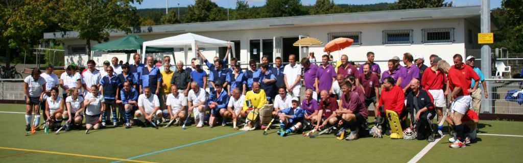 Teilnehmer Feldhockey-Turnier beim Hockey-Club Bad Homburg, August 2012