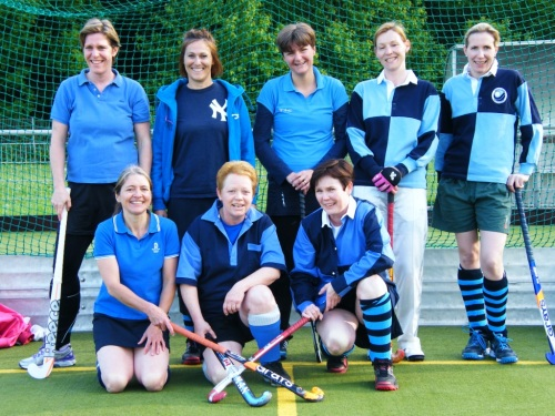 Seniorinnen des Hockey-Club Bad Homburg, Mai 2013