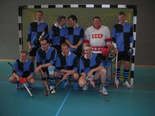 Senioren des Hockey-Club Bad Homburg in Ludwigsburg, März 2013
