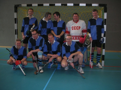 Senioren des Hockey-Club Bad Homburg in Ludwigsburg, März 2013