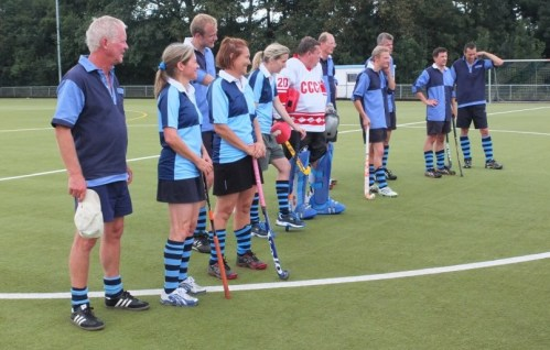 Senioren des Hockey-Club Bad Homburg, August 2013