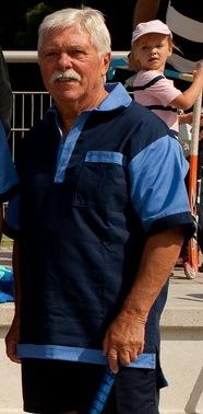 Manfred Wenzel, August 2009 bei Rot-Weiss Köln